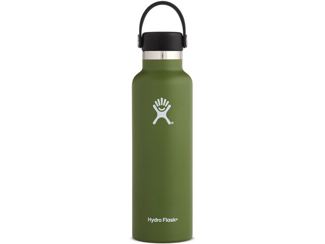 Hydro Flask Standard Mouth Flex Bottle 621ml olive